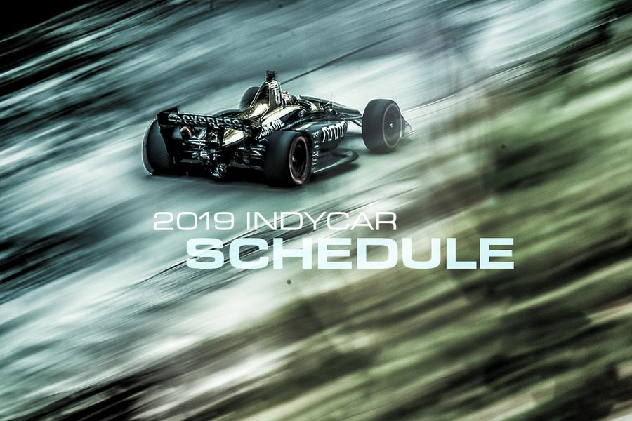 2019 IndyCar Series schedule