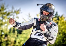 Johan Kristoffersson 2018 World RX champion