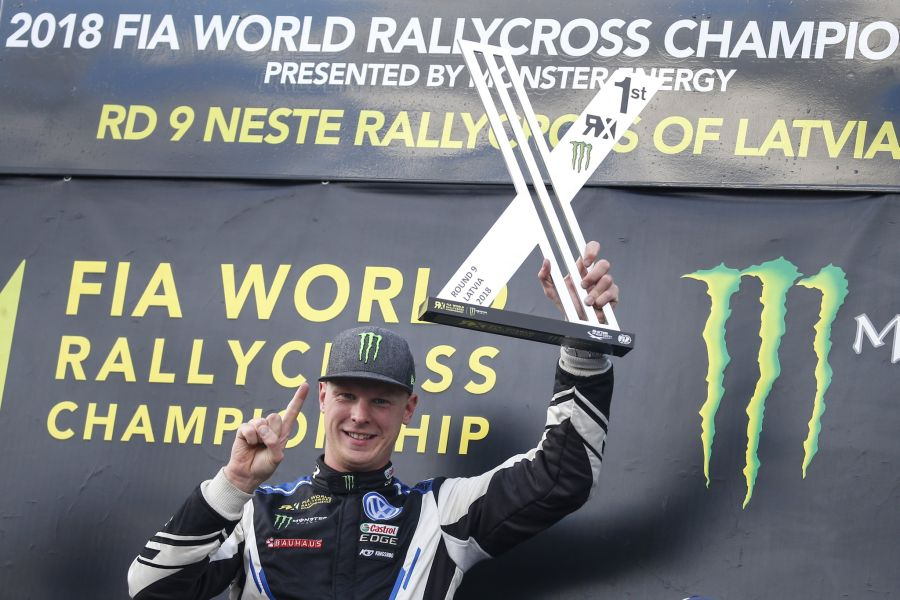 Johan Kristoffersson Latvia World RX