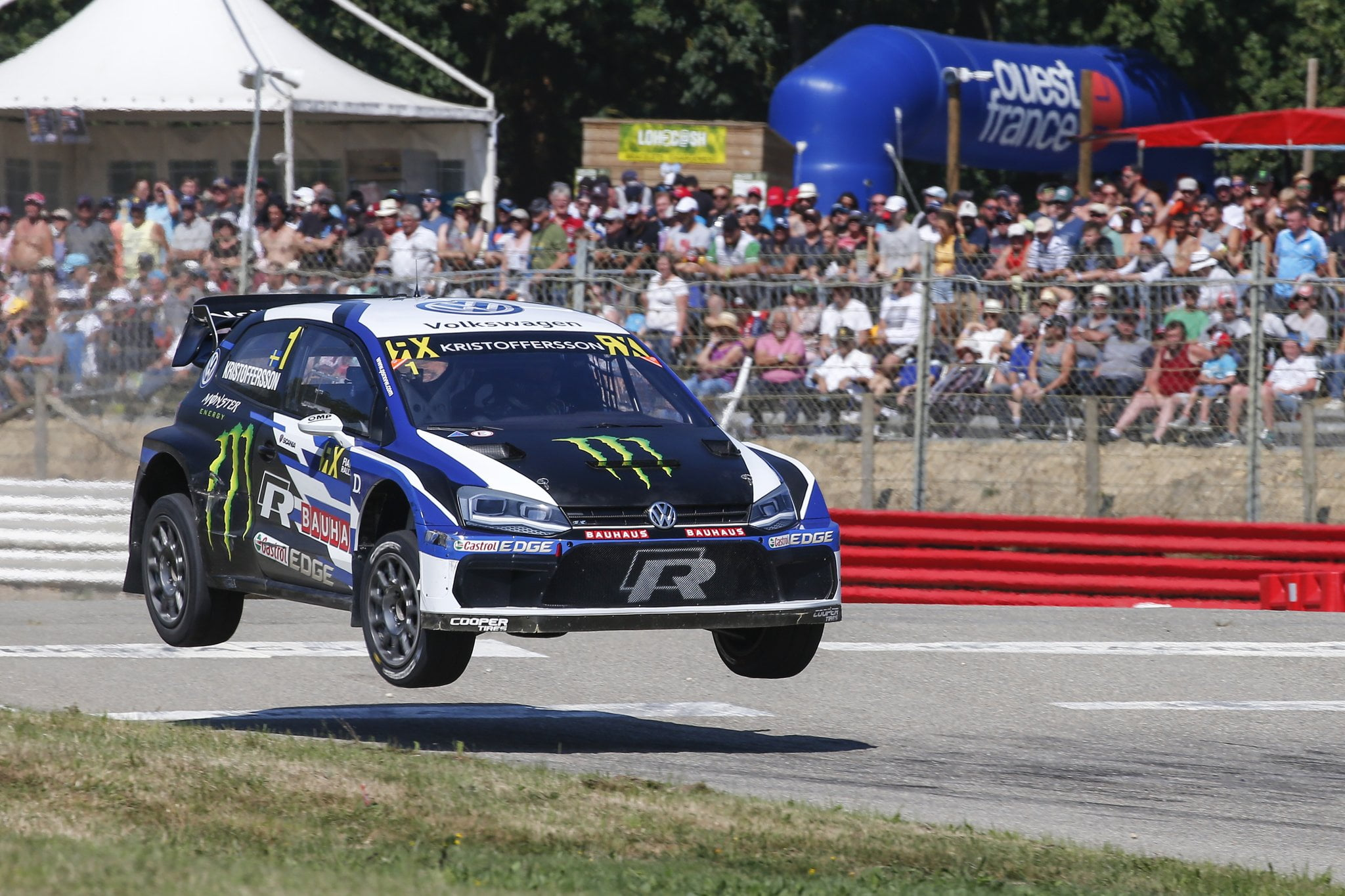 Johan Kristoffersson, World RX of France, Circuit de Loheac