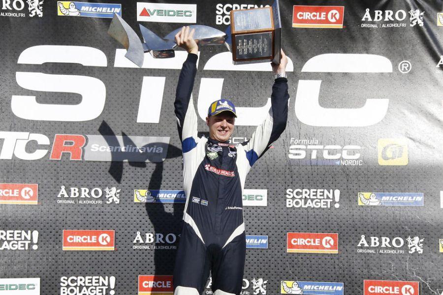 Johan Kristoffersson 2018 STCC champion