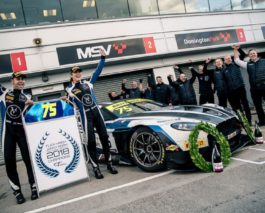 Jonny Adam and Flick Haigh are the 2018 British GT champions