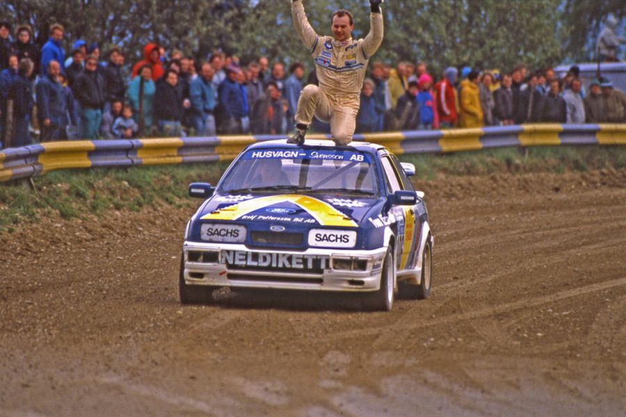 Kenneth Hansen 1989 Ford Sierra
