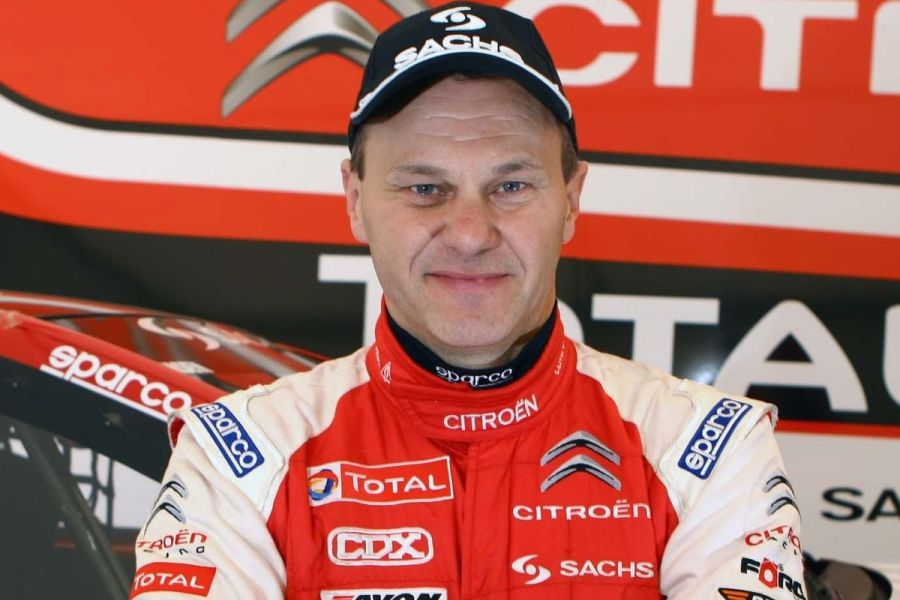Kenneth Hansen raced with Citroens from 1993 to 2011
