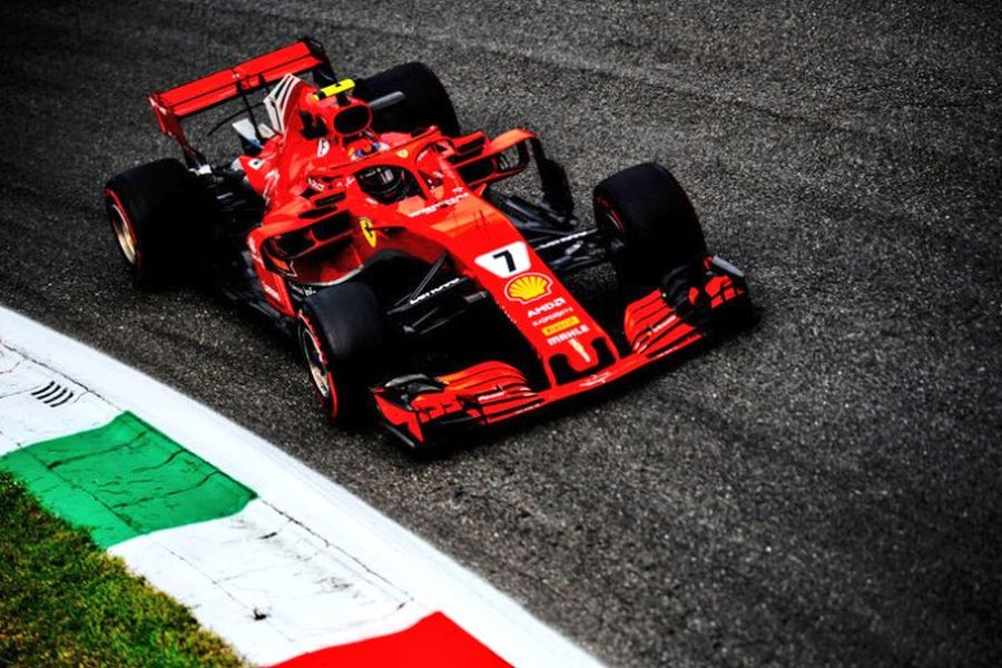 Kimi Raikkonen 2018 Italian Grand Prix Monza