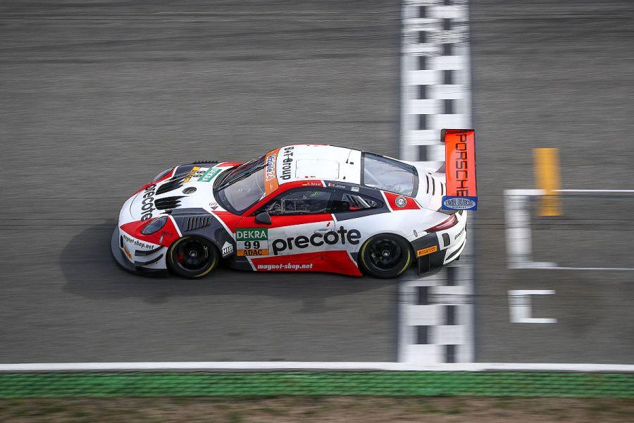 Championship winning #99 Porsche 911 GT3 R of Herberth Motorsport