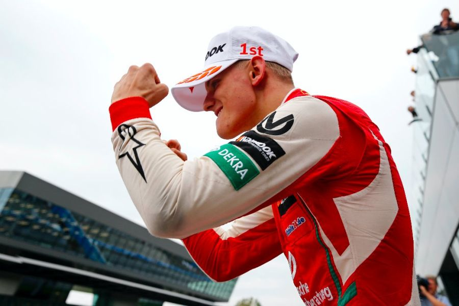 Mick Schumacher at Red Bull Ring