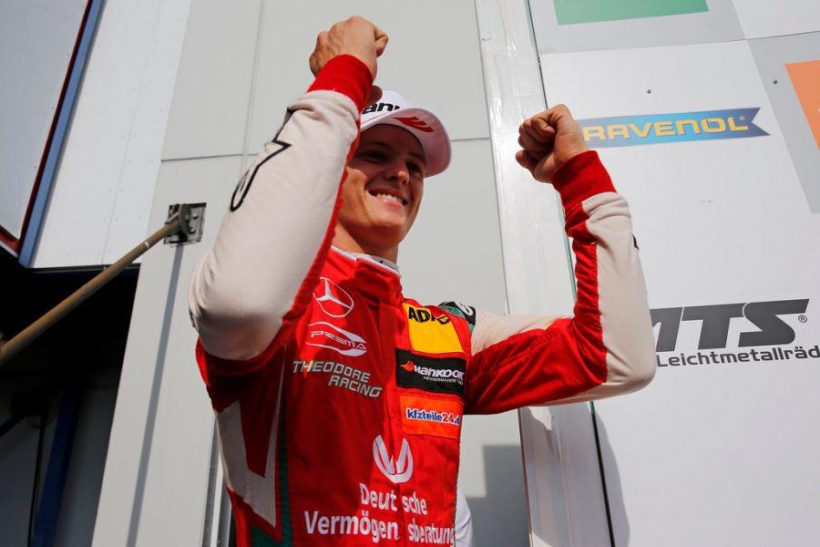 Mick Schumacher, F3 Europe Nurburgring