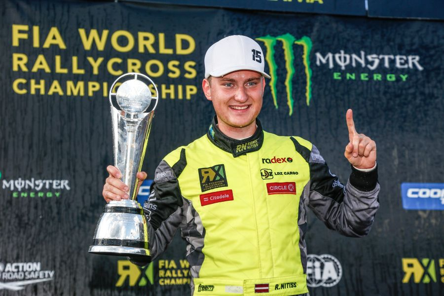 Reinis Nittis wins the 2018 European Rallycross Championship
