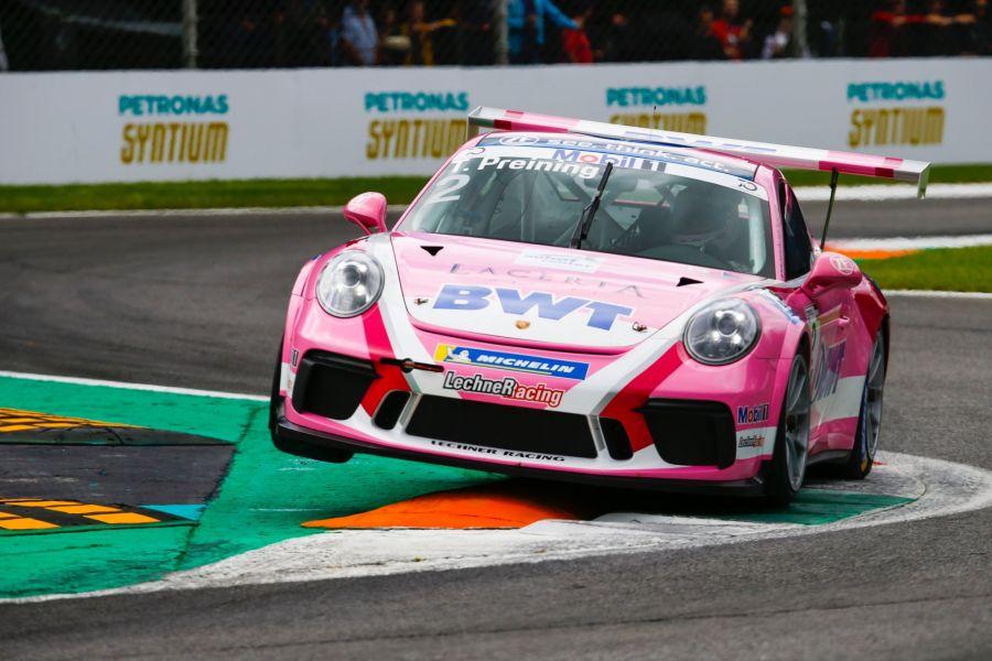 Thomas Preining, Porsche Supercup, Monza