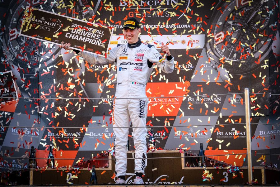 Raffaele Marciello is the overall Blancpain GT Series champion