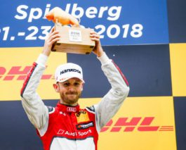 Rene Rast wins both DTM races at Spielberg to spice up title fight