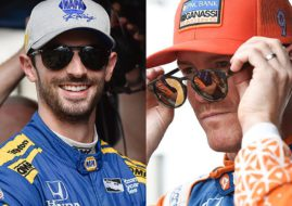 Alexander Rossi, Scott Dixon, 2018 IndyCar Series