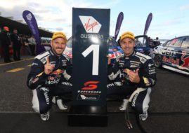 Supercars Sandown 500 winners Paul Dumbrell, Jamie Whincup