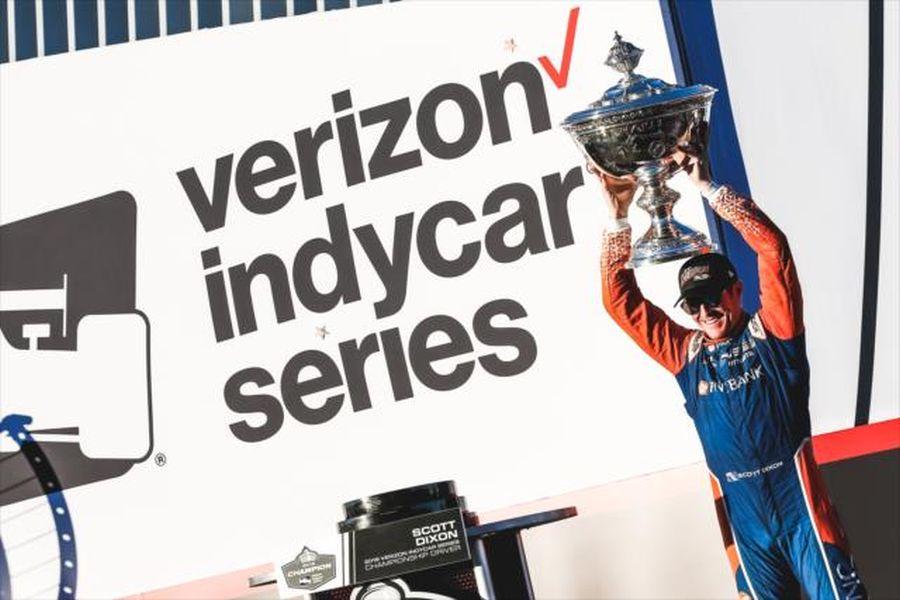 Scott Dixon 2018 IndyCar champion
