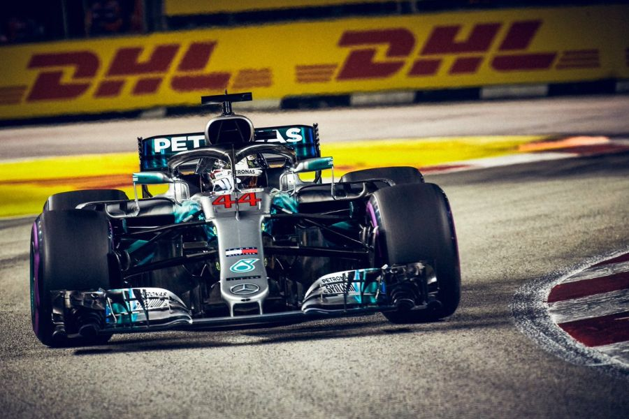 Lewis Hamilton, Formula 1 Singapore Grand Prix 2018
