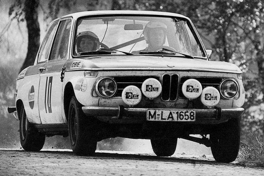 Sobieslaw and Ewa Zasada scored their fourth win at Rally Poland in a BMW 2000 tii