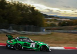 VLN round 7, Black Falcon Mercedes