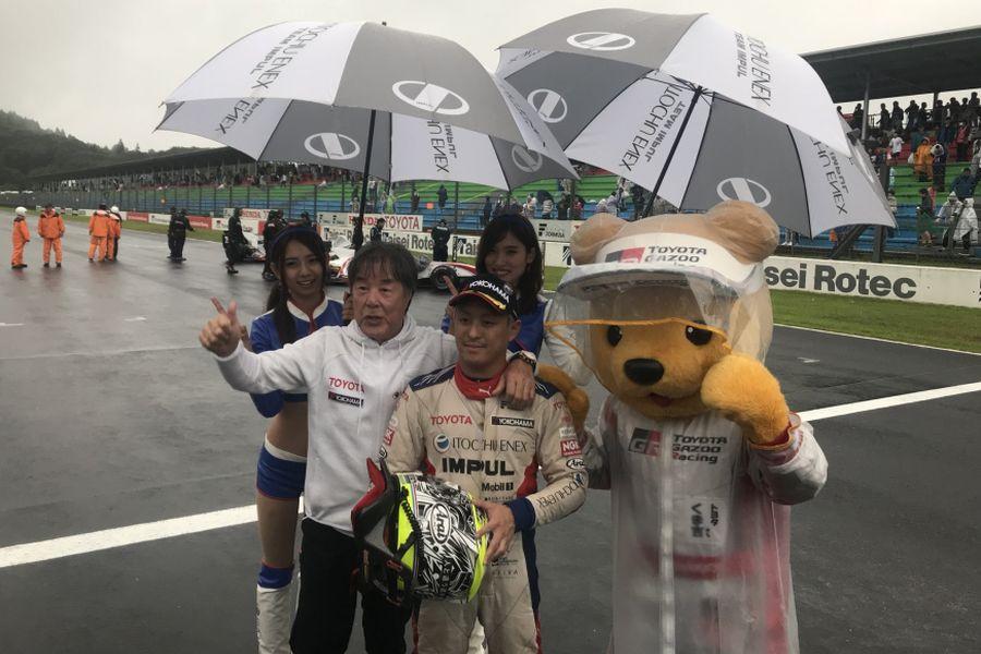 Yuhi Sekiguchi Super Formula Okayama