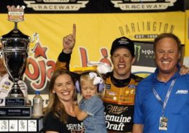 Brad Keselowski wins at Darlington