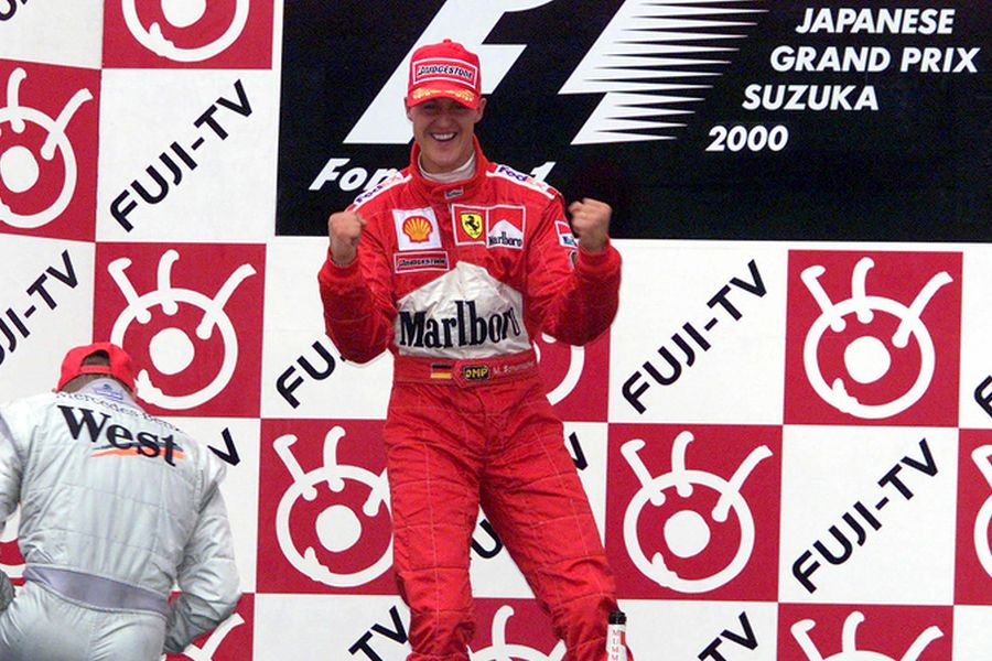 Michael Schumacher 2000 Japanese Grand Prix