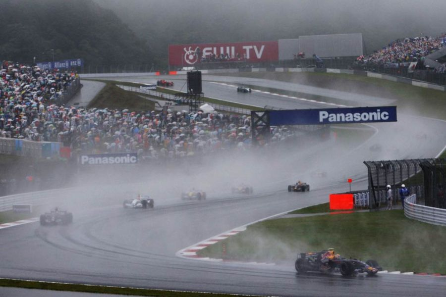 Japanese Grand Prix at Fuji in 2007