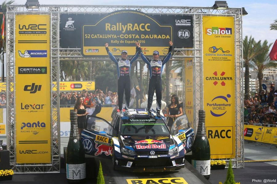2016 Rally Catalunya Ogier