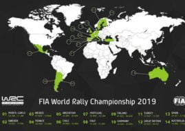 2019 World Rally Championship calendar