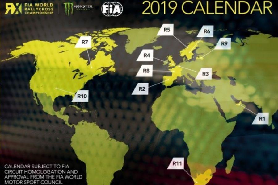 2019 Worlx RX calendar