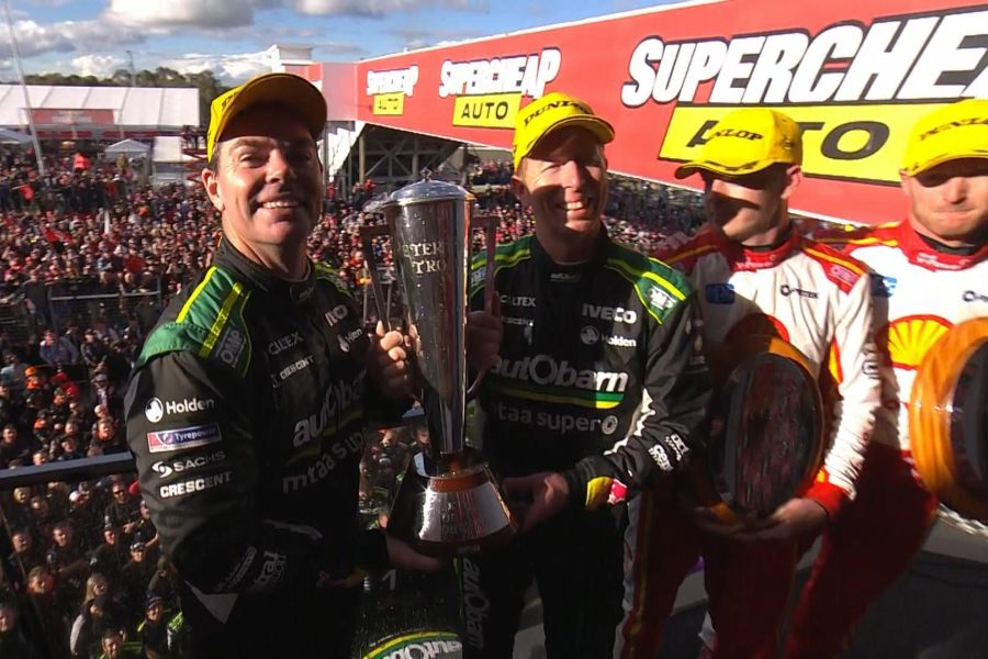 Second victory together for Craig Lowndes and Steven Richards at Bathurst 1000