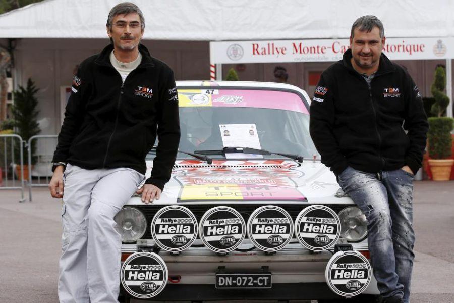 Daniel Elena (right) and Olivier Campana