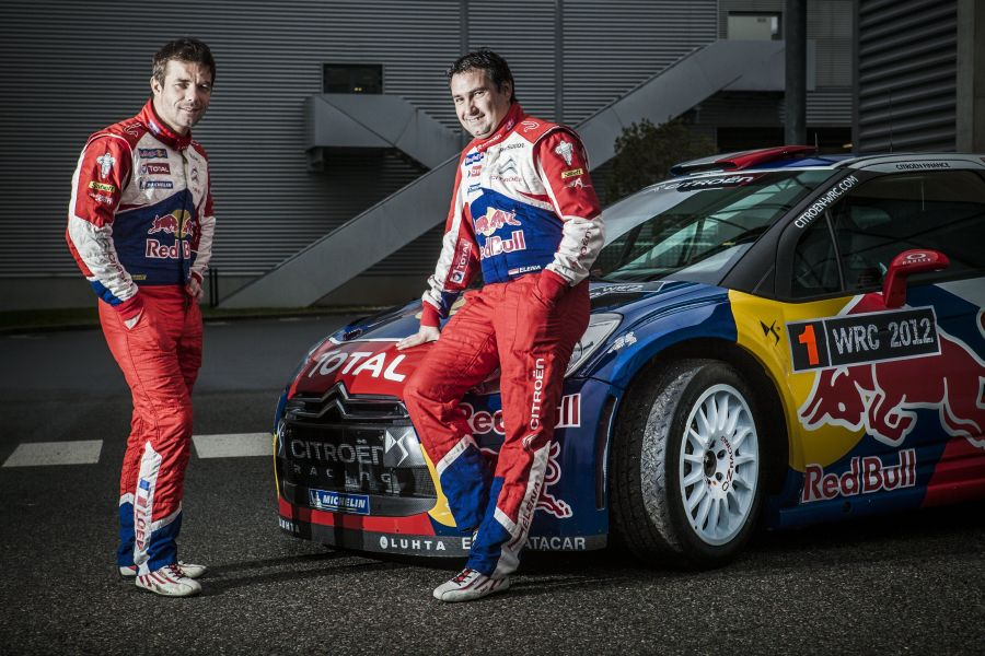 Sebastien Loeb and Daniel Elena - the most successful pair in World Rally Championship history
