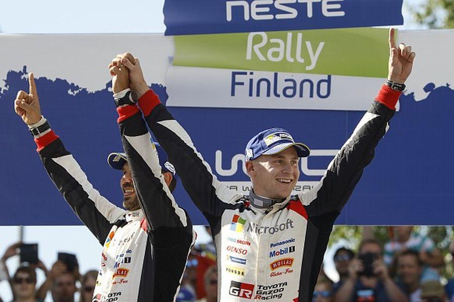 Esapekka Lappi 2017 Rally Finland