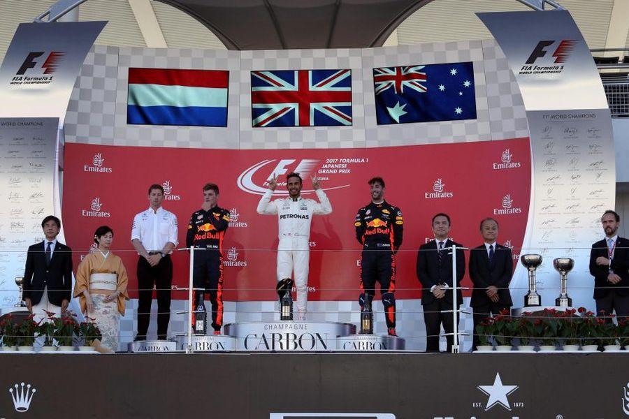 Formula 1 Japanese Grand Prix 2017 Lewis Hamilton