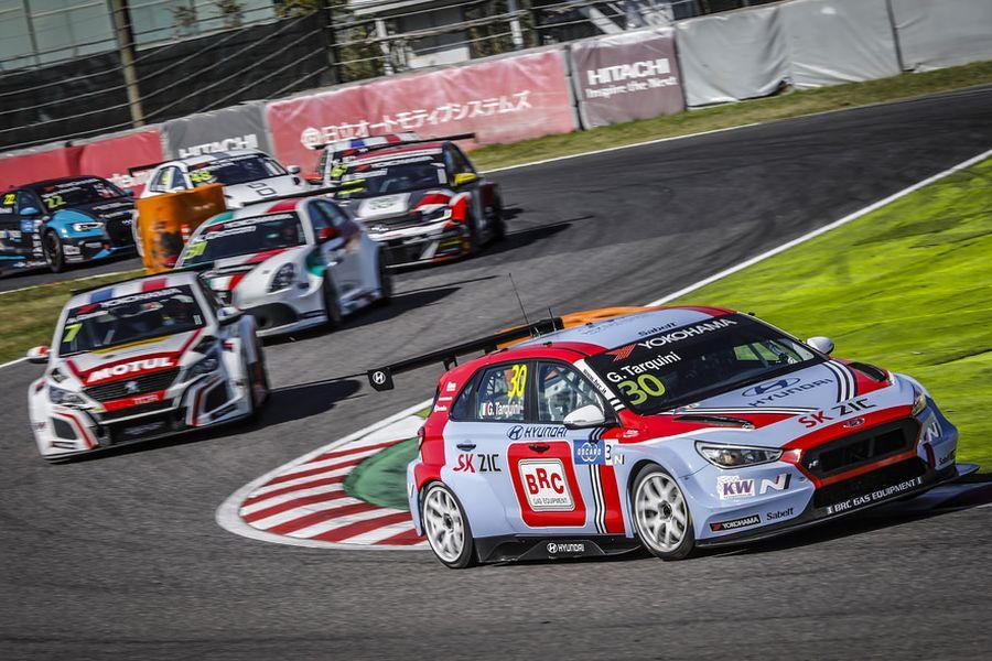 WTCR Suzuka Gabriele Tarquini Hyundai i30