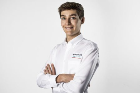 George Russell, Williams Racing Driver Photoshoot