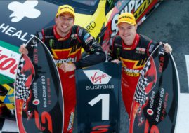 Chaz Mostert. James Moffat, Gold Coast 600 Saturday's winners