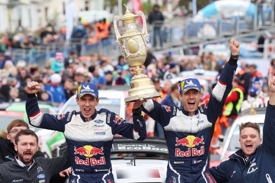 Julien Ingrassia, Sebastien Ogier, fifth win at Wales Rally GB