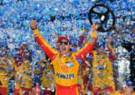 Joey Logano wins First Data 500 at Martinsville
