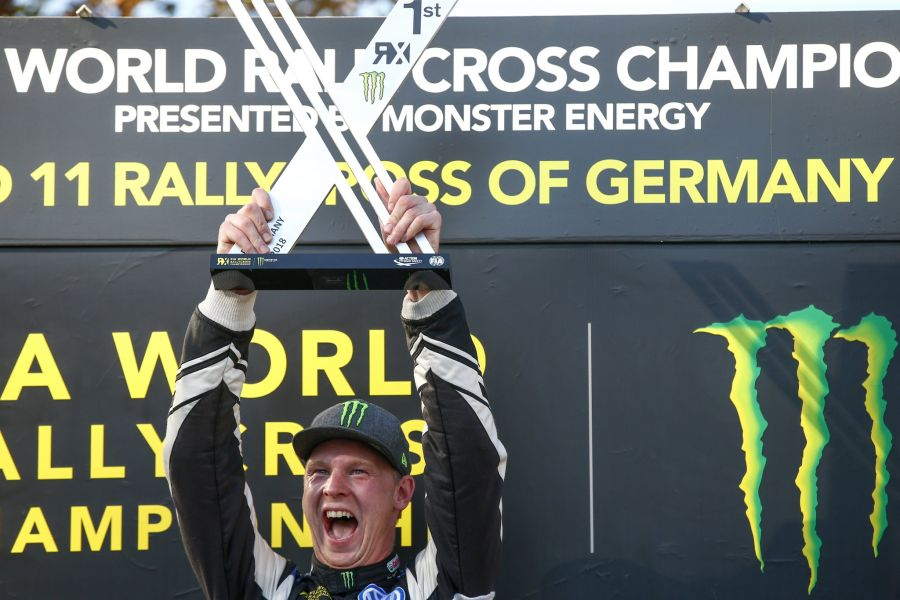 Johan Kristoffersson wins at Estering
