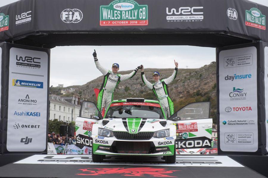 Kalle Rovanpera Wales Rally GB