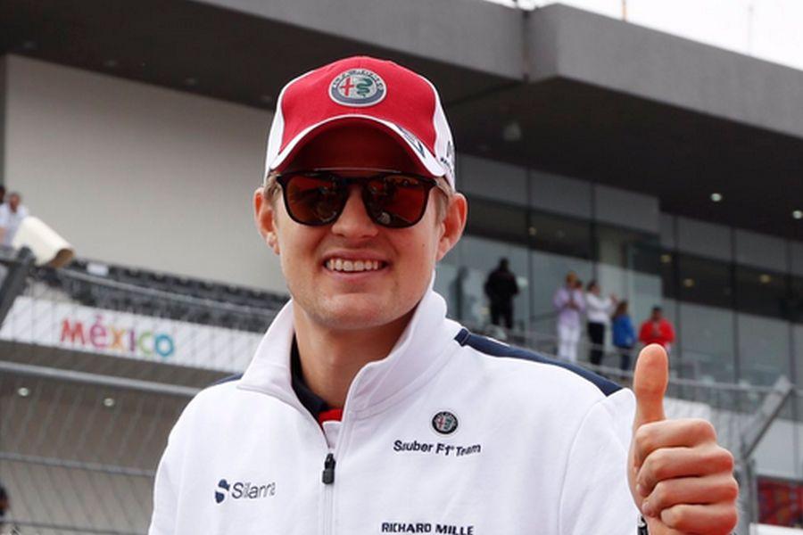 Marcus Ericsson F1 Sauber