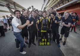 Max Fewtrell 2018 Formula Renault Eurocup champion