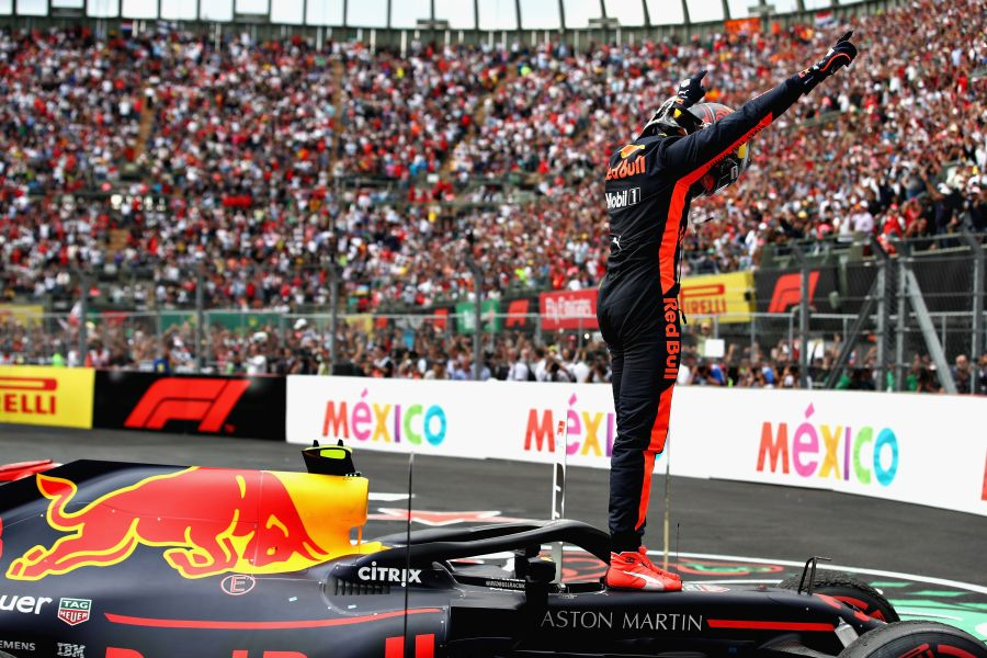 Max Verstappen wins Mexican Grand Prix