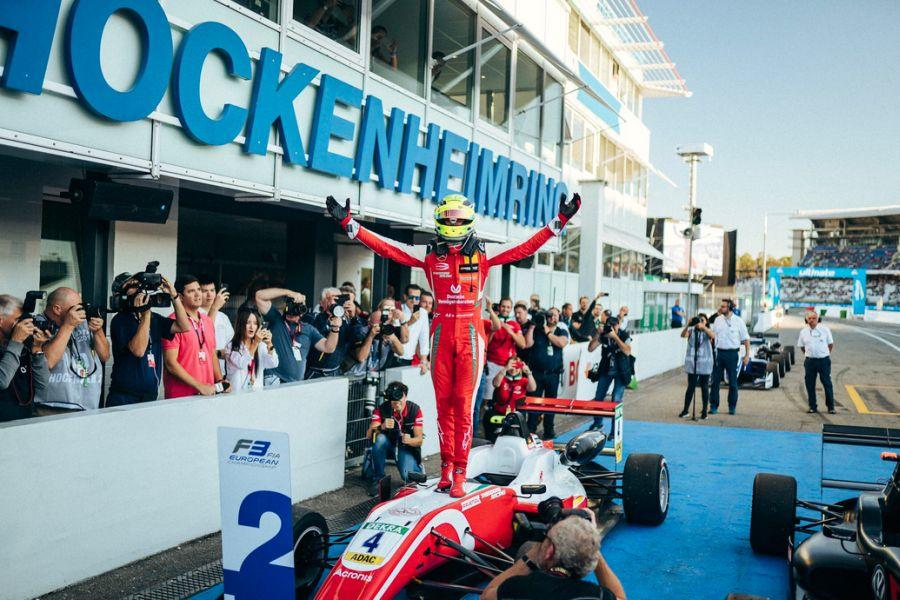 Mick Schumacher F3 champion
