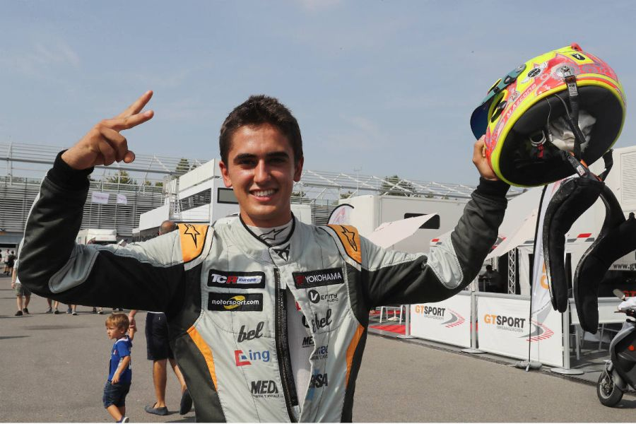 Mikel Azcona 2018 TCR Europe Series champion
