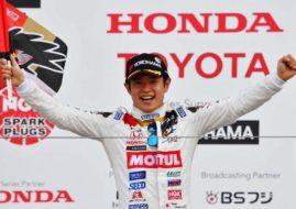 Naoki Yamamoto 2018 Super Formula champion