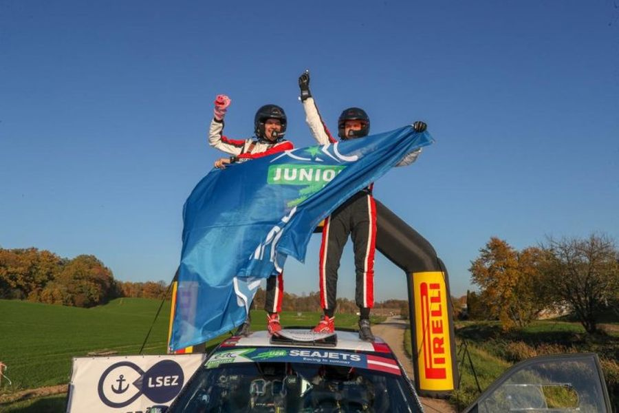 Nikolay Gryazin and Yaroslav Fedorov, Rally Liepaja