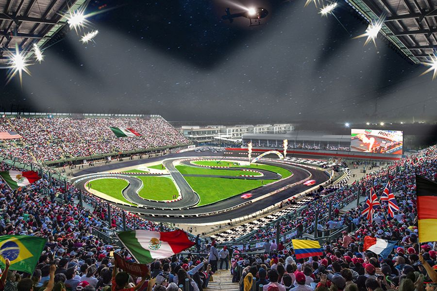 Race of Champions, Mexico City, Autodromo Hermanos Rodriguez, Foro Sol