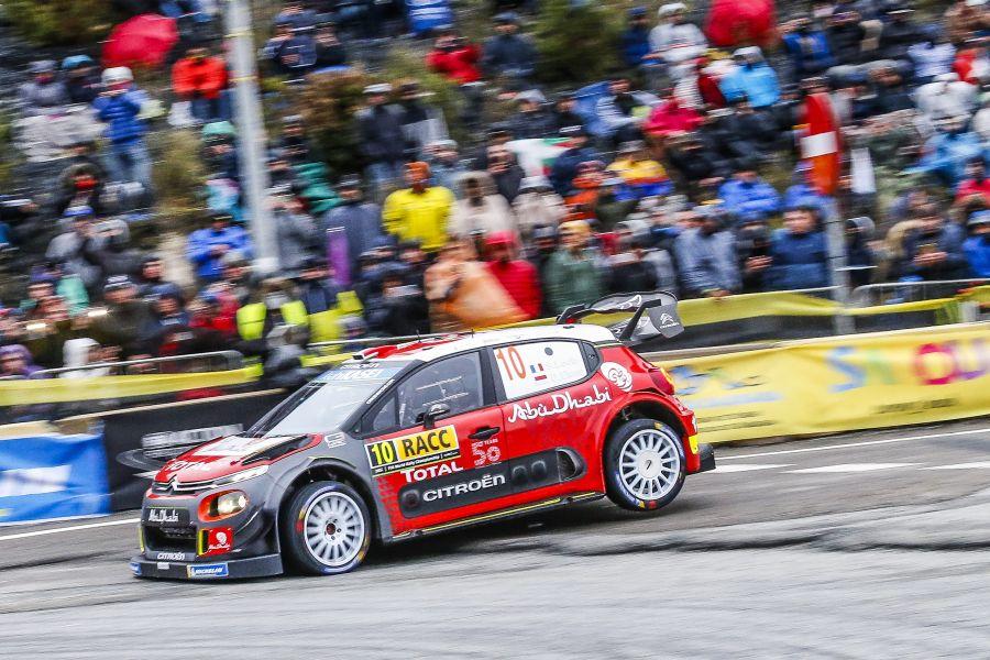 Sebastien Loeb's #10 Citroen C3 WRC